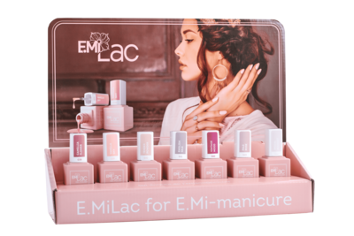 Set E.MiLac Shades of Elegance, 9 ml