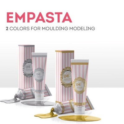 SET EMPASTA Baroque Gold and EMPASTA Openwork Silver, 5 ml.