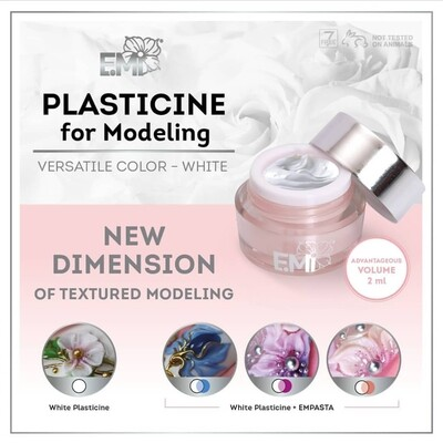 Plasticine for modeling, 2 ml.