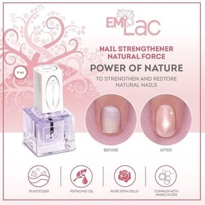 Nail Strengthener Natural Force, 9 ml.