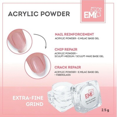Acrylic Powder for nail repair, 2,5 g.