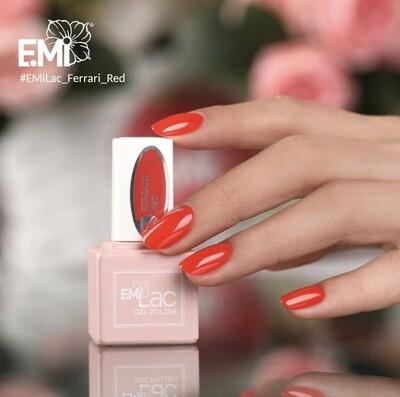 E.MiLac RM Ferrari Red #222, 9 ml.
