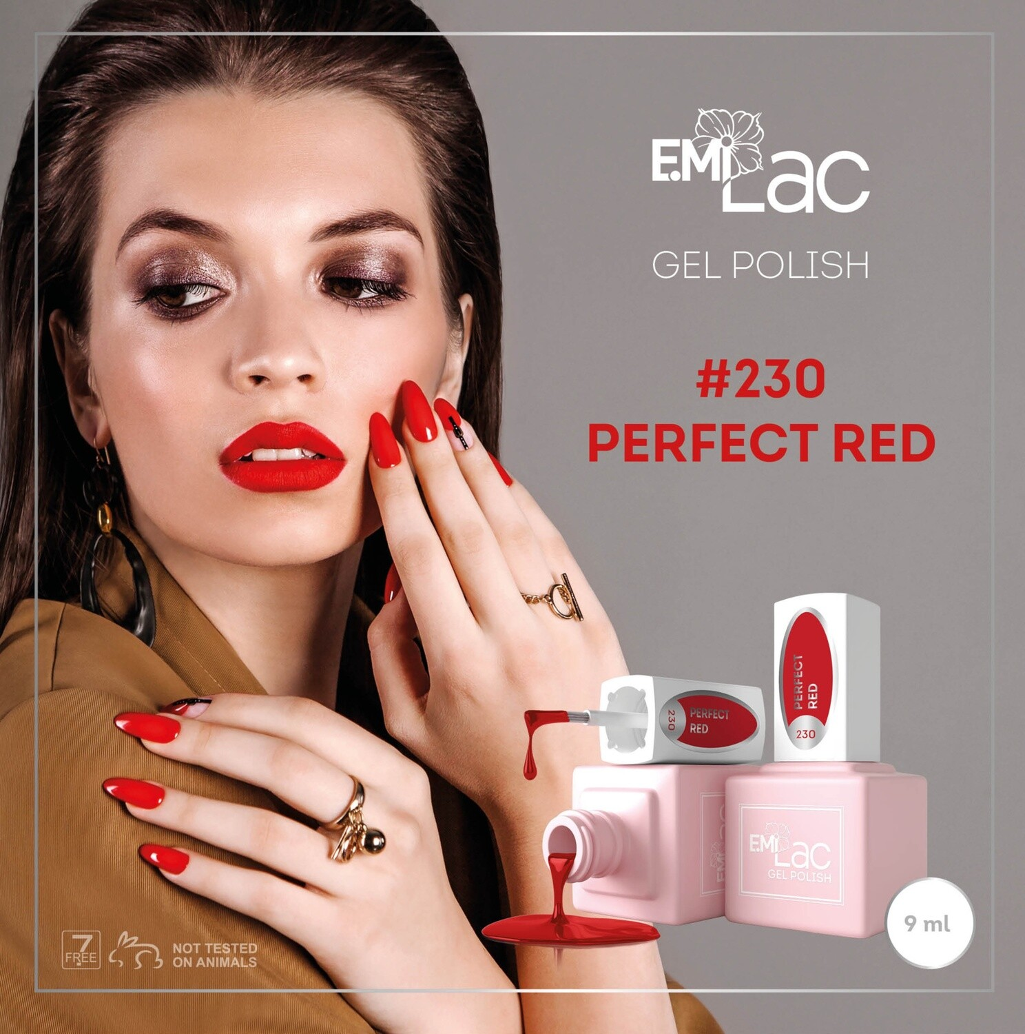 E.MiLac Perfect Red #230