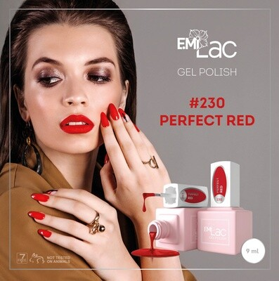 E.MiLac Perfect Red #230