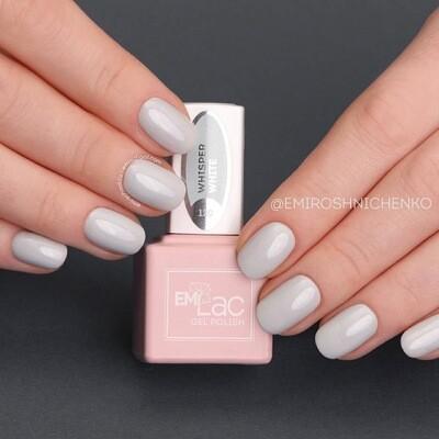 E.MiLac TGR Whisper White #120, 9 ml.