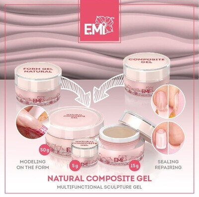 Natural Composite Gel, 5g.