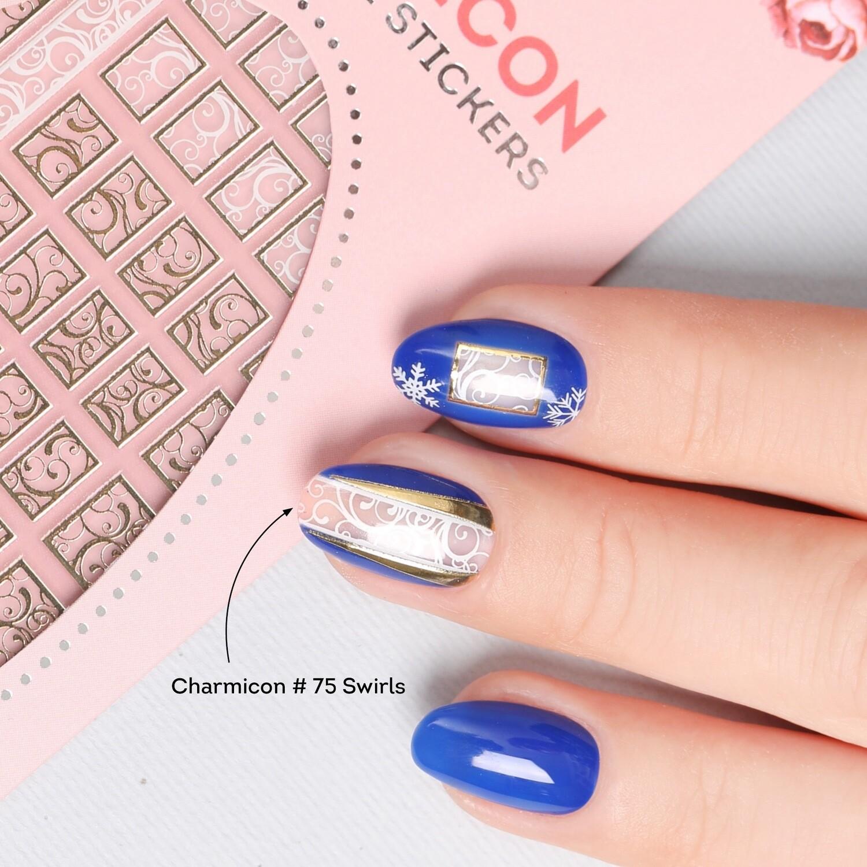 Charmicon Silicone Stickers #75 Swirl