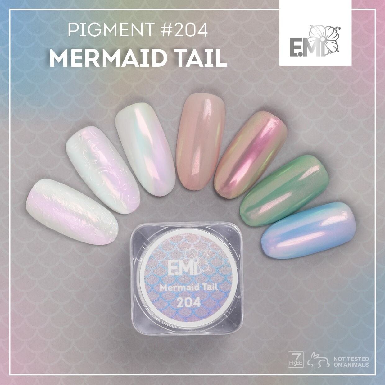 Pigment Mermaid Tail #204 0,5 g.