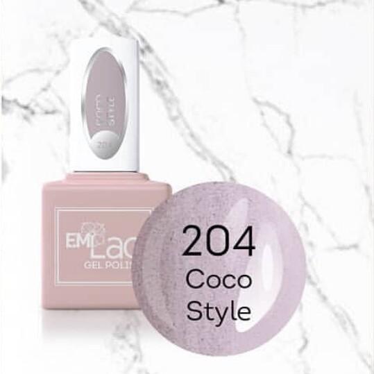 E.MiLac SM Coco Style #204, 9 ml.