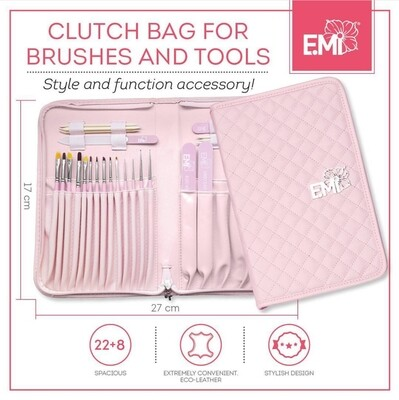 Clutch Bag for brushes and tools