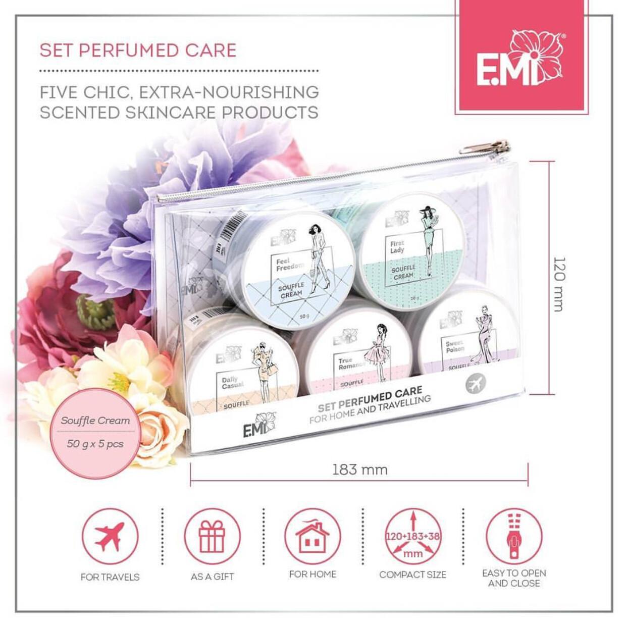 Set Perfumed Care. Extra-Nourishment