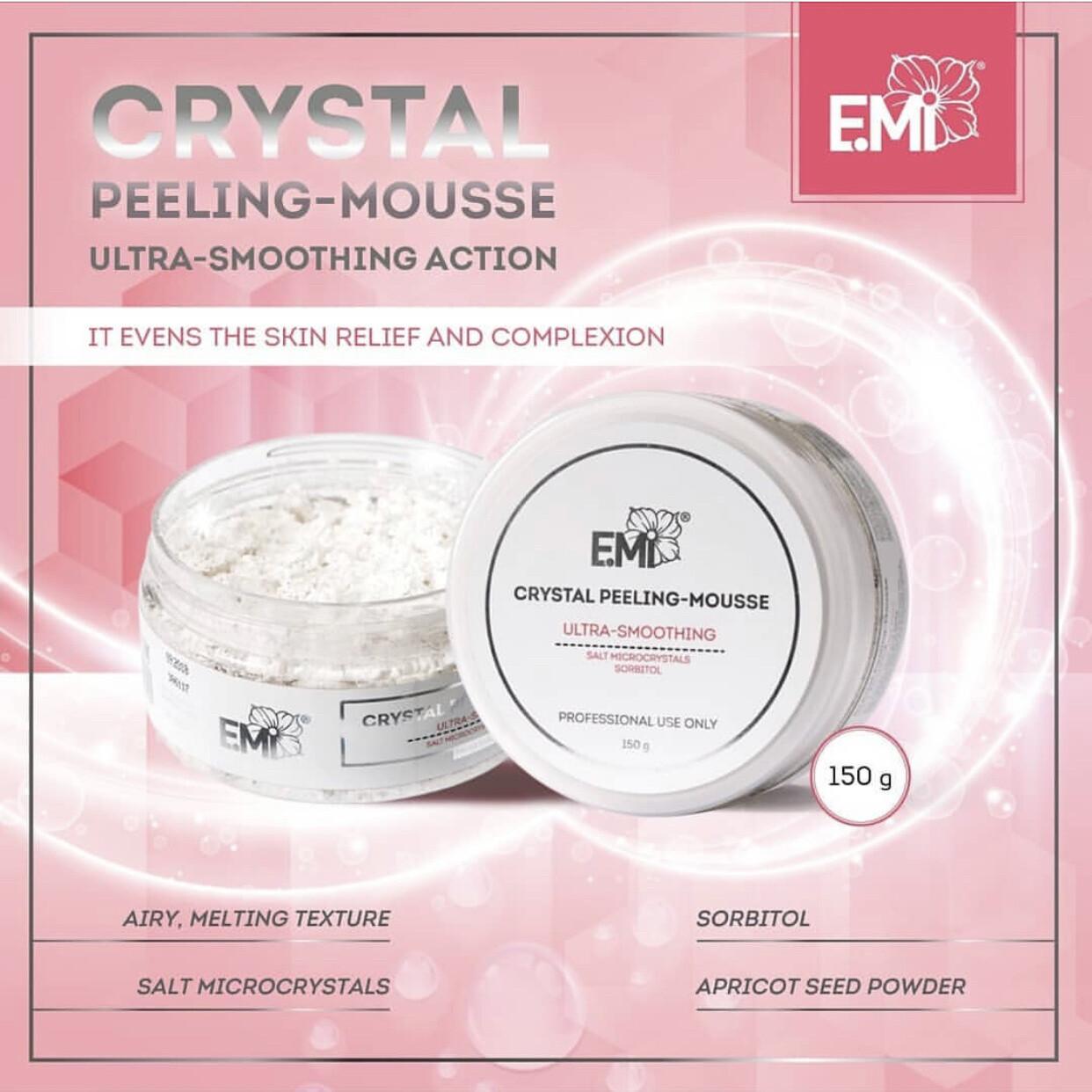 Crystal Peeling-Mousse, 150 g.