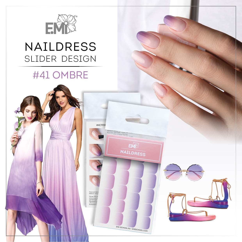 Naildress Slider Design #41 Ombre