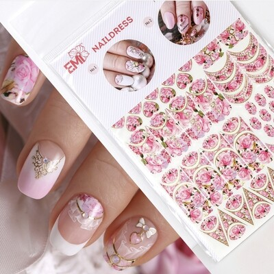Naildress Slider Design Tender Roses