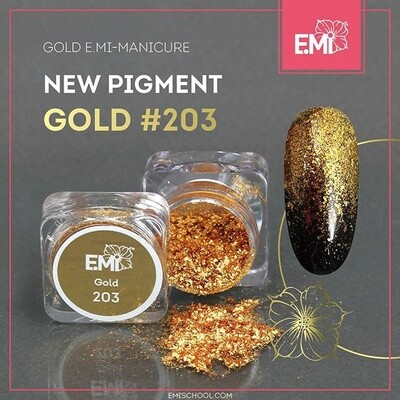 Pigment Gold #203, 1 g.