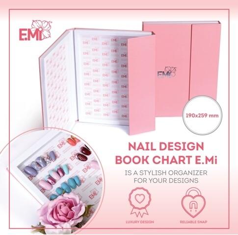 Nail Design book chart E.Mi