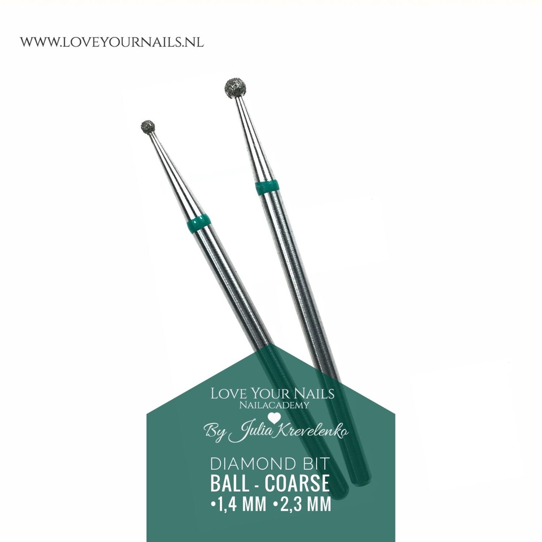 Diamond Drill Bit - Coarse ball -Hard Skin Clean Up