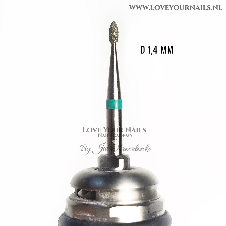 Diamond Nib bit - coarse - for very dry hard skin