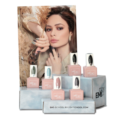E.MiLac Set Harmony, 9 ml. + display