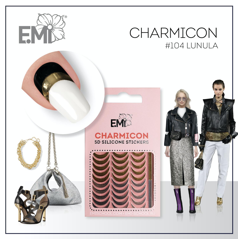 Charmicon Silicone Stickers #104 Lunula