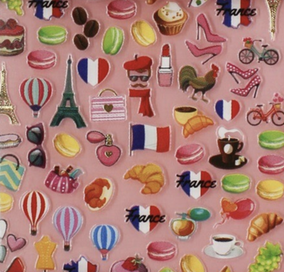 Charmicon Silicone Stickers France 1