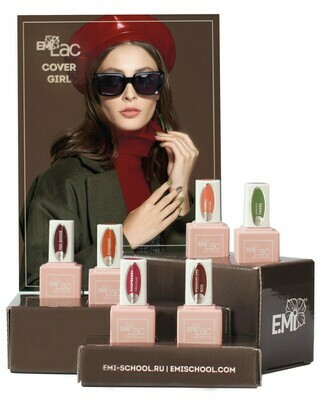 Set E.MiLac Cover Girl, 6x 9ml