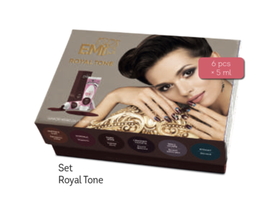Set gel paint Royal Tone