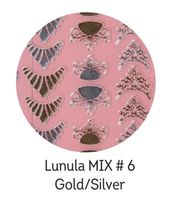 Charmicon Silicone Stickers Lunula MIX #6