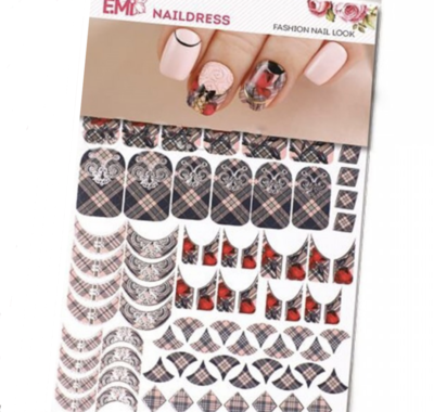 Naildress Slider Design Smoky Check