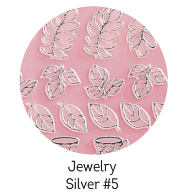 Charmicon Silicone Stickers Jewelry Silver #5