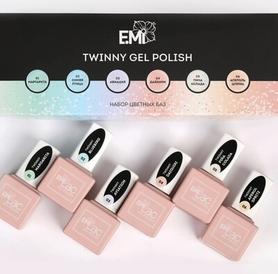 SET E.MiLac Twinny 6x9 ml