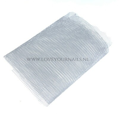Nail Art netting - white