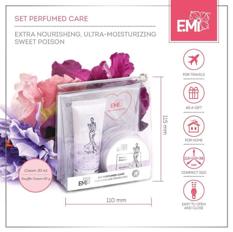 "Set ""Perfumed Care"". Extra-Nourishment and Ultra-Moisturizing Sweet poison"