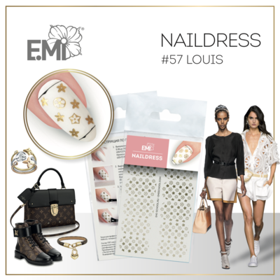 Naildress Slider Design #57 Louis