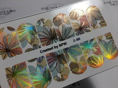 Chestnut leaf 2-88 Esdoornblad