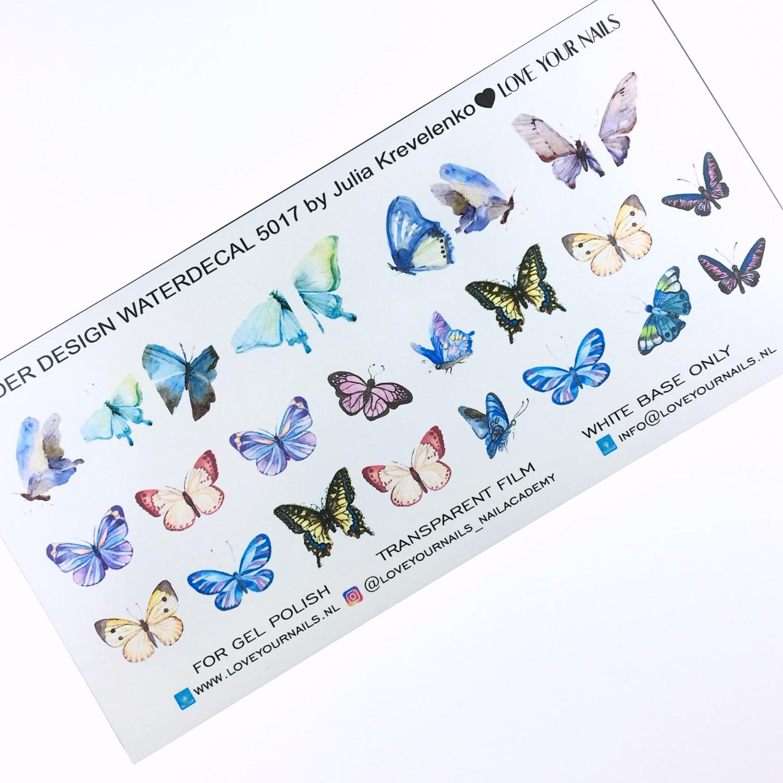 Vlinders 5017 extra lang slider