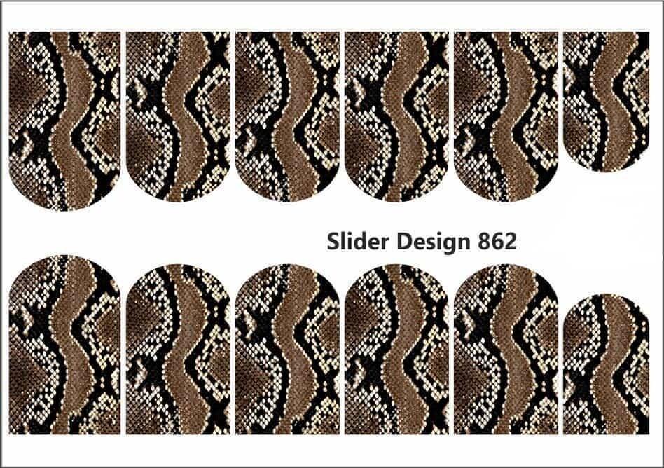 Snake skin print 862