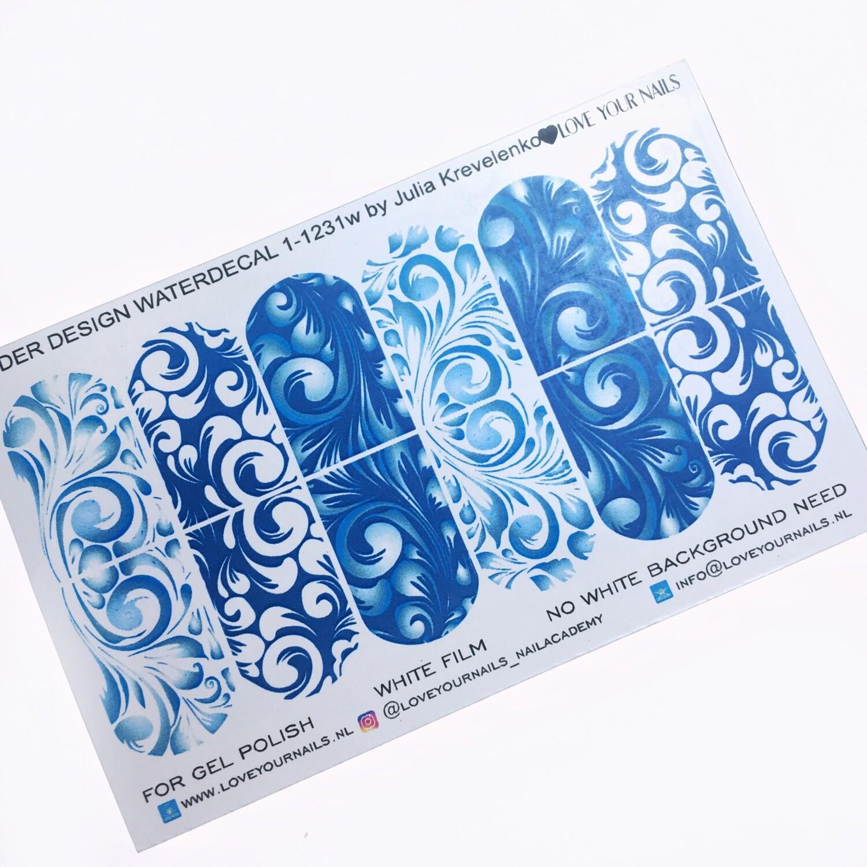 Blauwe krullen 1-1231