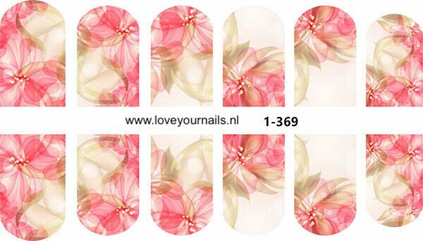 Abstract bloemen 1-369w