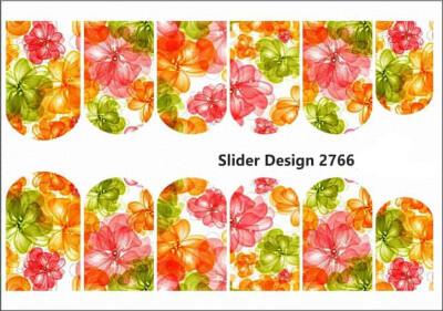 Abstract bloemen 2766w