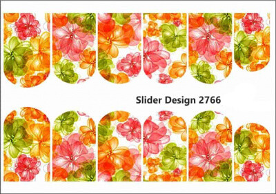 Abstract bloemen 2766w