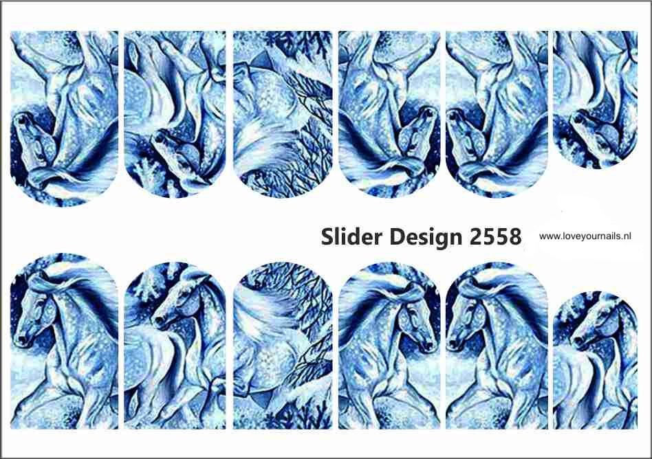 Blauwe paarden 2558