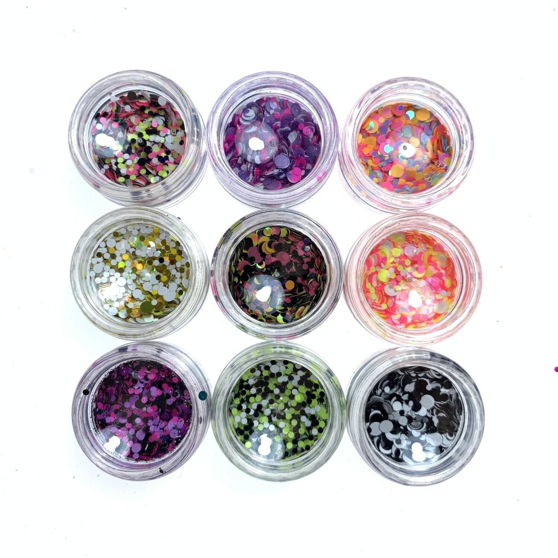 Kamifubuki mix of wel rolly-polly set 2, 9 pcs