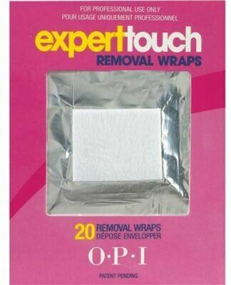 Gel polish verwijderen, 20 pads, Removal wraps