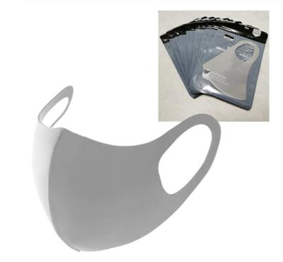 Mondmasker - 5 st, grijs