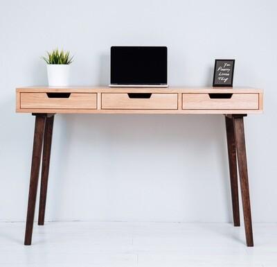 """Письменный стол """"Oslo"""" [Осло] с тремя выдвижными ящиками"""