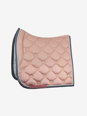 Dressage Saddle Pad, Blush, Monogram