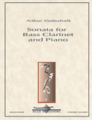 Gottschalk: Sonata for Bass Clarinet and Piano