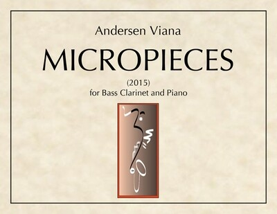 Viana: Micropieces for bass clarinet and piano