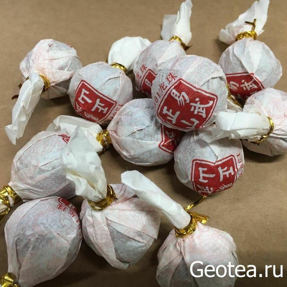 Чай Шэн Пуэр ИУ Сяо То, конфета